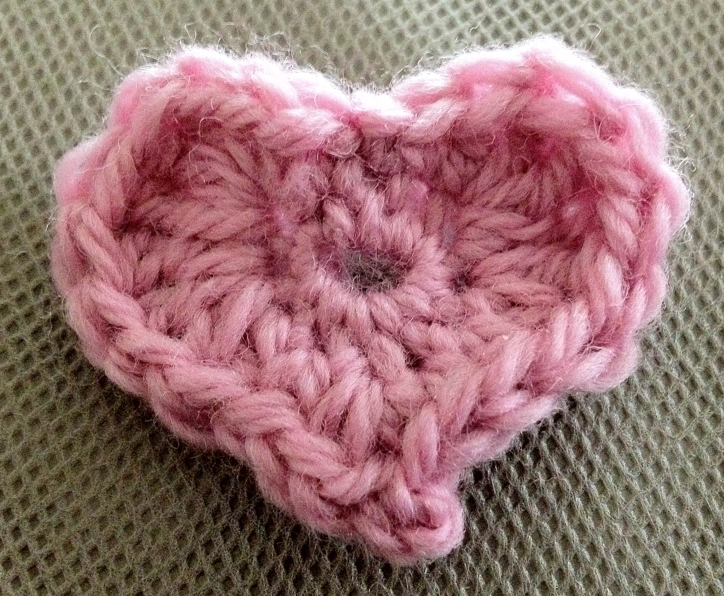 Crochet Mini Stuffed Heart Patterns Free Patterns For ...